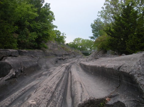 World class glacial grooves on Kelleys Island