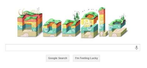 Google Doodle for January 11, 2012: Nicolas Steno's 374th birthday.