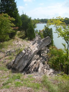 East Quarry on Kelly's Island, OH