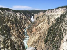 Artist's Point, Yellowstone National Park, WY
