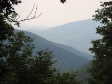 View of Shenandoah Valley from the Appalachian Trail, VA