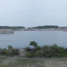 Limestone Quarry on Kelly's Island, OH